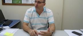 Professor e coordenador do Curso de Administração da FASIPE, Sérgio Crocetta Coelho. (Foto por Rafael Staudt)